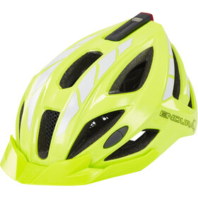 Endura Luminite Kask rowerowy, hi-viz yellow/reflective